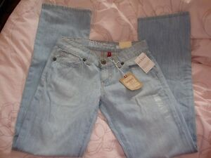 "WOMENS GUESS DAREDEVIL JEANS SIZE 29 x 35"" STRAIGHT LEG"
