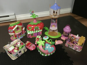 Strawberry Shortcake & Tangled Houses & Accessories