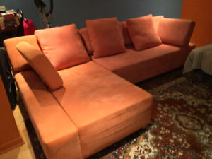 Le sofa moderne style sectionnel