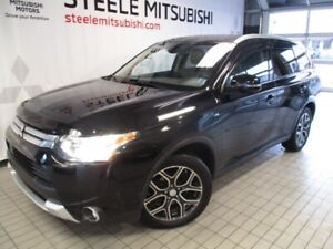2015 Mitsubishi Outlander GT PREMIUM LEATHER NAV SUNROOF 7PASS