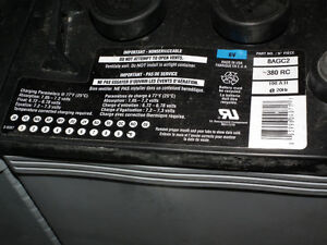 JELL TYPE  GOLF CART BATTERY`S  FOR SOLAR SYSTEMS . Windsor Region Ontario image 3
