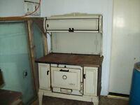 Wood burning stove & oven