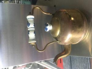 Brass Dutch tea pot
