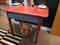 Artsy Painted Vintage Desk