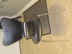 2 ebony dining chairs Kitchener / Waterloo Kitchener Area image 1