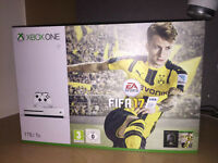 Xbox One S 1TB Console with Fifa 17 (Brand New)