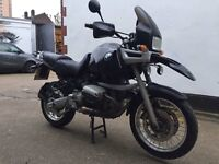 BMW Adventure R 1100 GS motorcycle. Looks and runs great. 1 Years MOT.