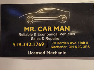 Mr. Car Man Automotive Sales & Repairs