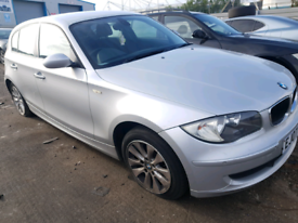 Breaking spares parts bmw 1 series e87 118d 2007 silver 5 dr