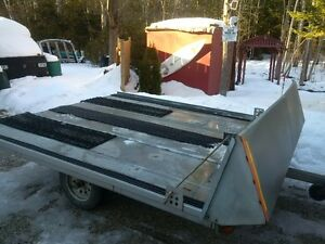2007 Snowmobile Double Trailer
