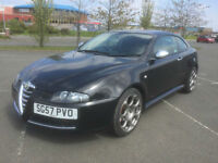 2007 ALFA ROMEO GT 2.0 JTS BLACKLINE LIMITED EDITION PETROL 2 KEYS FULL SERVICE
