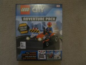 Lego City Adventure Pack Book And Toy (Brand New!)