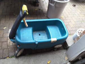 Plastic wagon for toddlers for sale