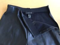 Ladies leather like trousers size 6