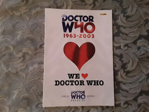 DOCTOR WHO SPECIAL MAGAZINES