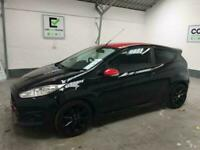 *buy from £34 per week* BLACK FORD FIESTA 1.0 ZETEC S BLACK EDITION 3D 139 BHP