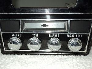 1967-68 CHEVROLET  8-TRACK PLAYER