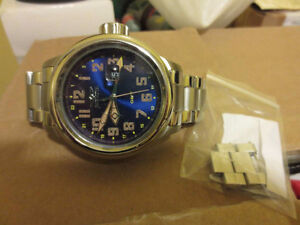 Invicta Russian Aviator GMT Watch Big Large 54mm Case