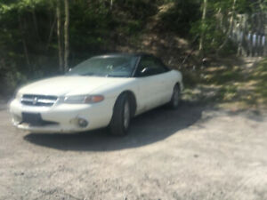 1997 Chevy Sebring Convertible for sale