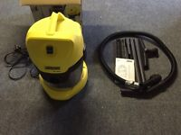 Karcher wet and dry vacuum in new condition