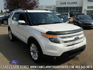 2013 Ford Explorer Limited  Moonrood Navigation Trailer Tow