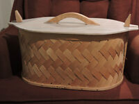 Oval Wooden Baskets