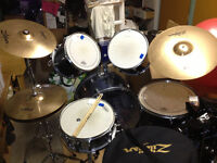 Drum set with new highhat!
