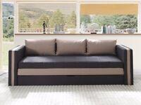 Sofa Bed EUFORIA-Latte