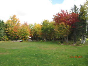 Building lot on edge of woodland, 22 acres.