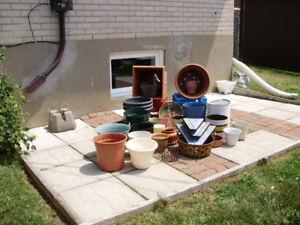 Pots à fleurs intérieur et extérieur