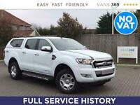 2016 Ford Ranger 2.2TDCi 160PS Limited 4X4 Automatic Pick Up Diesel Automatic