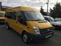 Ford Transit 2.4 TDCi t430 LWB EL17 seater 2011 61 Reg Only 44,000 miles