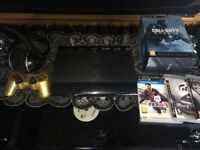 PlayStation 3 Super Slim 500GB Bundle Excellent Condition