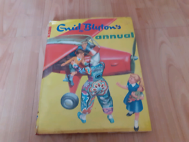 Enid blyton annual 1965 with dust jacket