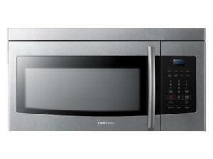 Samsung ME16K3000AS/AC 1.6 Cu. Ft. Over-the-Range Microwave (Store Refurbished)***Read***