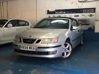 SAAB 9-3 2.0t CONVERTIBLE AUTO 2004MY VECTOR HUGE SPEC FULL LEATHER INTERIOR