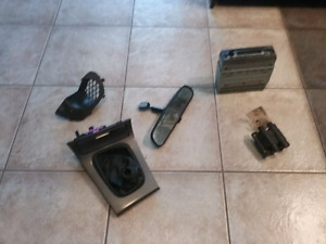 2005 Impreza parts, headlights, weathertech, coil,