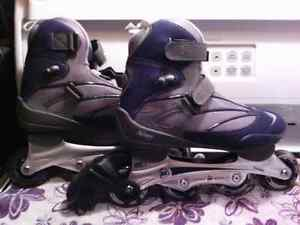 His and hers brand new roller blades
