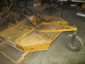 "60 "" 3 point tractor rear mower"