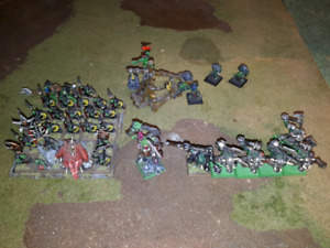 Warhammer age of sigmar orks and goblins fantasy army