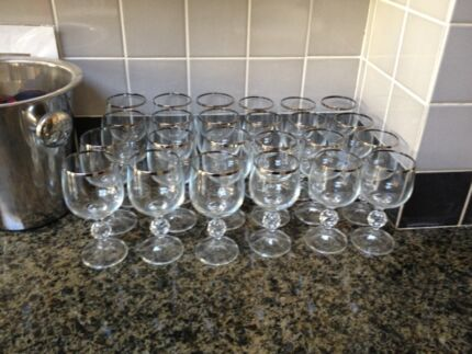 Antique wine glasses  Surry Hills Inner Sydney Preview