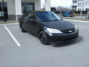 HONDA CIVIC 2005, 1.8L MANUAL 245,000KM