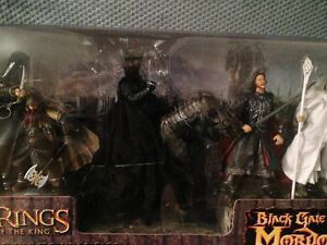 Lord of the Rings action figure boxed sets London Ontario image 2