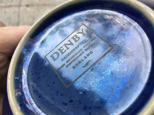 Denby Harlequin set of fifty pieces - Used but in amazing shape! Kitchener / Waterloo Kitchener Area image 7