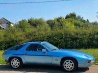 LEFT HAND DRIVE 1990 [G] PORSCHE 928 S4 5.0 COUPE BLUE 2DR AUTO LHD UK REG
