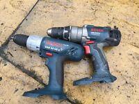 Bosch cordless drill battery gun