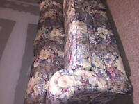 Floral Pull Out Couch
