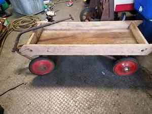 Antique wooden Wagon Cambridge Kitchener Area image 2