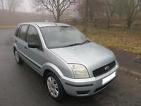 2004 '04' FORD FUSION 2 1.4 5 DOOR HATCH IN MINT GREEN ONLY 61,000 MILES