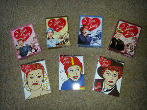 I LOVE LUCY Complete Series - 34 DVD`s (Seasons 1-9)